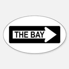 The Bay Way Oval Decal