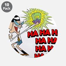 "Mandark Ha Ha Ha Ha! 3.5"" Button (10 pack)"