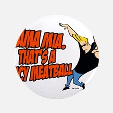 """That's A Spicy Meatball 3.5"""" Button (100 pack)"""