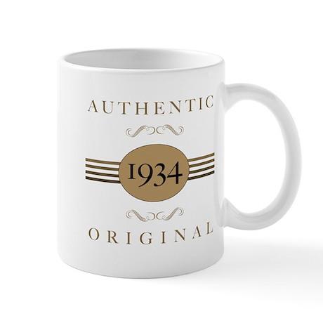 1934 Authentic Original Mug