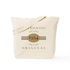 1934 Authentic Original Tote Bag