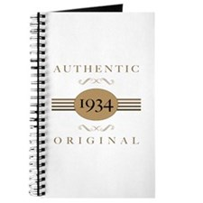 1934 Authentic Original Journal