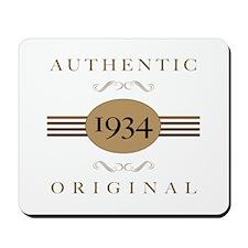 1934 Authentic Original Mousepad