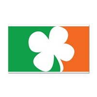 Pro Irish Rectangle Car Magnet