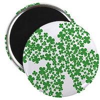 "Clover Clovers 2.25"" Magnet (100 pack)"