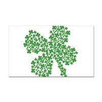 Clover Clovers Rectangle Car Magnet
