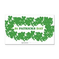 St Patrick's Day Reef Rectangle Car Magnet