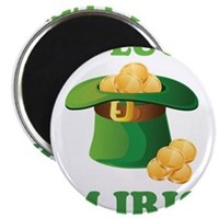 "Get Lucky Im Irish 2.25"" Magnet (100 pack)"