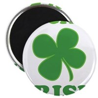 "Luck O' Irish Clover 2.25"" Magnet (100 pack)"