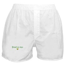 BRASIL NO MEU CORACAO Boxer Shorts