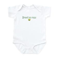 BRASIL NO MEU CORACAO Infant Bodysuit