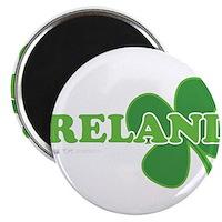 """Ireland Lucky Clover 2.25"""" Magnet (100 pack)"""