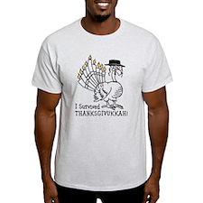 I Survived Thanksgivukkah! T-Shirt