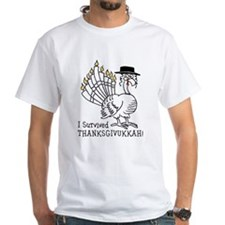 I Survived Thanksgivukkah! T-Shirt