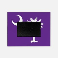 SC Palmetto Moon State Flag Purple Picture Frame