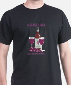 A GLASS A DAY T-Shirt