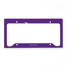SC Palmetto Moon State Flag Purple License Plate H