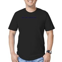 You Can't Afford Me Men's Fitted T-Shirt (dark)