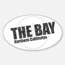 The Bay (cities) Oval Decal