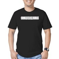 unTOUCHable Men's Fitted T-Shirt (dark)