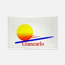 Giancarlo Rectangle Magnet
