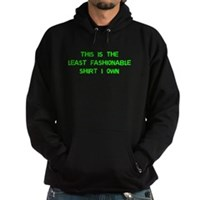 Not Fashionable Hoodie (dark)