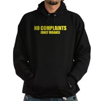 No Complaints, Only Moans Hoodie (dark)