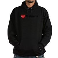 I Love To Watch Lesbians Hoodie (dark)