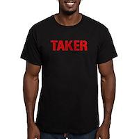 Taker Men's Fitted T-Shirt (dark)