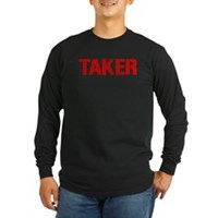 Taker Long Sleeve Dark T-Shirt