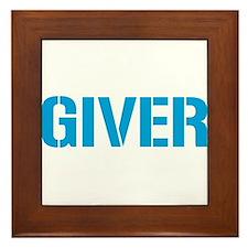 Giver Framed Tile