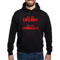 I'm Not Drunk! Hoodie (dark)