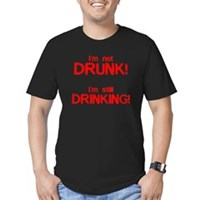 I'm Not Drunk! Men's Fitted T-Shirt (dark)