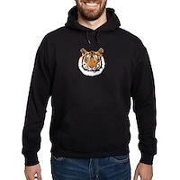 Tiger Face Hoodie (dark)