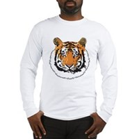 Tiger Face Long Sleeve T-Shirt