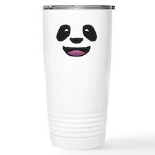 Panda Face Thermos Mug