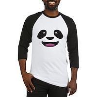 Panda Face Baseball Jersey