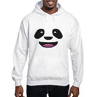 Panda Face Hooded Sweatshirt