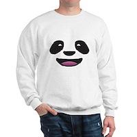 Panda Face Sweatshirt