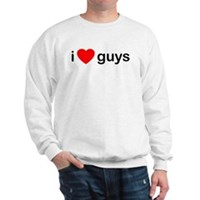 I Heart Guys Sweatshirt