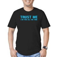 Trust me... Men's Fitted T-Shirt (dark)