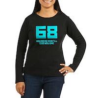 Let's 68! Women's Long Sleeve Dark T-Shirt