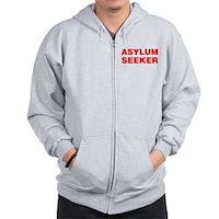 Asylum Seeker Zip Hoodie