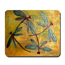 Dragonfly Haze Mousepad