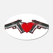 Gun Love Wall Decal