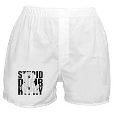 Stupid, Dumb & Hyphy Boxer Shorts