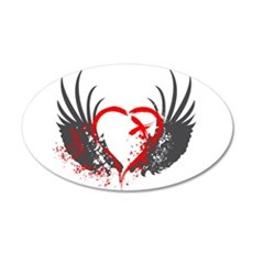 Blood Wings Wall Decal