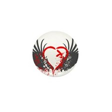 Blood Wings Mini Button (100 pack)