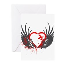 Blood Wings Greeting Cards (Pk of 10)