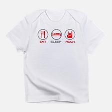 Eat Sleep Rock Infant T-Shirt